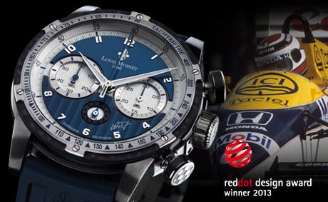 The award-winning Nelson Piquet chronograph